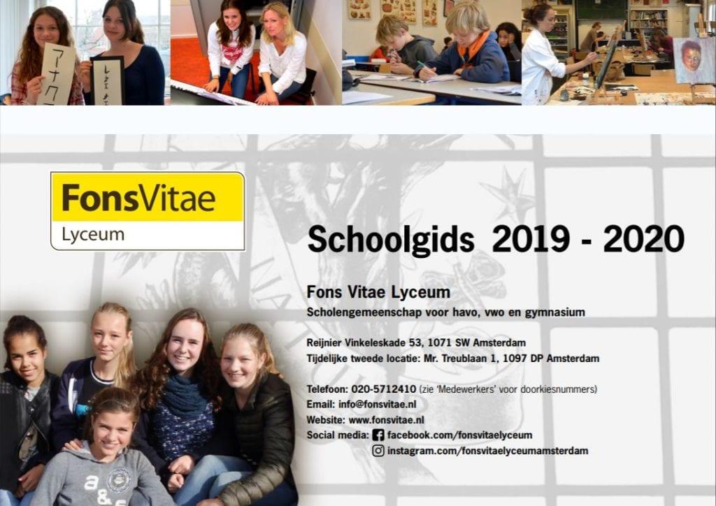 Schoolgids 2019 - 2020